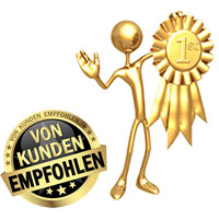 Kundenzufriedenheit im Gold Empire Shop